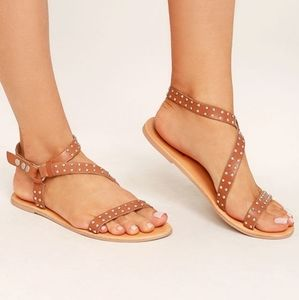 AMUSE SOCIETY x MATISSE Rock Muse Studded Sandals